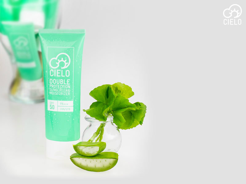 Cielo Double Protection Sunscreen & Moisturizer