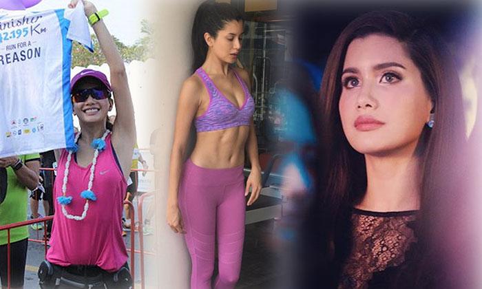 วิ่งสุดใจ! ปู ไปรยา นักแสดงหญิงไทยคนแรกที่วิ่งได้ 42 กิโลเมตร