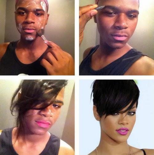 Makeup transformation  กระแสฮิตแปลงโฉมกระตุกต่อมฮา