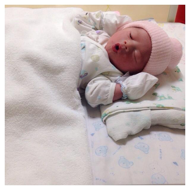 น้องคีริน ลูกชายคนแรกของฮารุ กาย