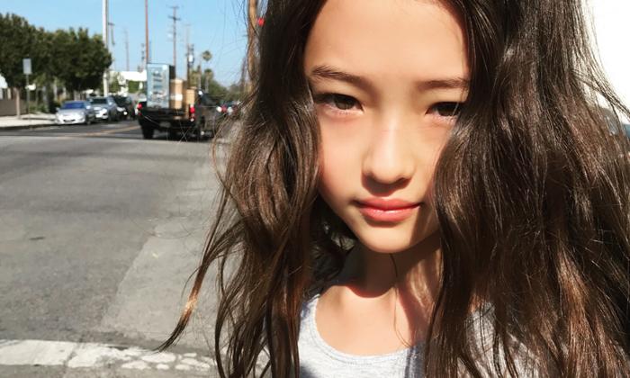 """ติดโผอีกหนึ่งชื่อ """"Ella Gross"""" นางแบบเด็กที่สวยที่สุดในโลก"""