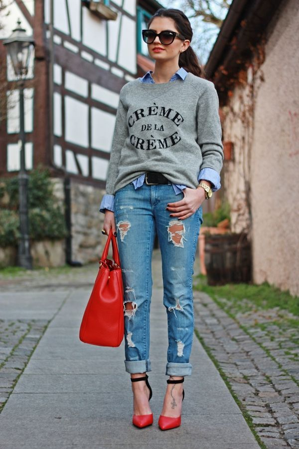 DIYแปลงร่างกางเกงยีนส์ตัวเก่าให้เก๋เท่ไม่ซ้ำใคร!