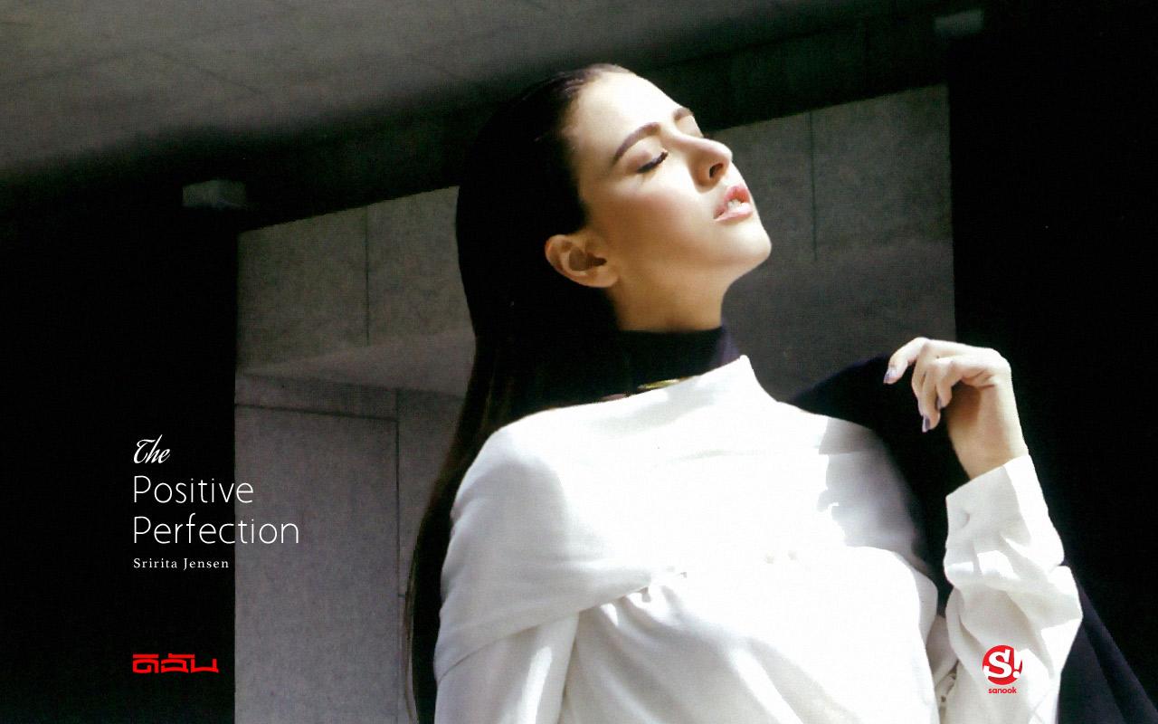 Sririta Jensen Wallpaper : The Positive Perfection
