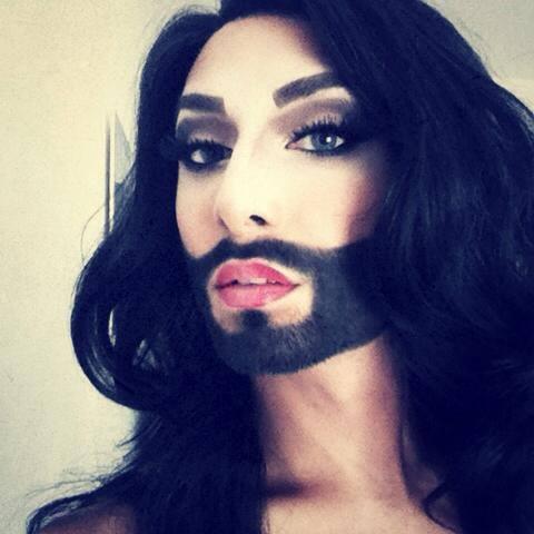 Conchita Wurst กะเทยหน้าหนวด สวยเกิดงานพรมแดง