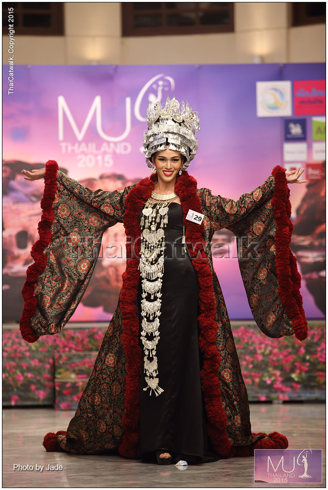 มิสยูนิเวิร์สไทยแลนด์ 2015 กับชุดไทย สุดสร้างสรรค์