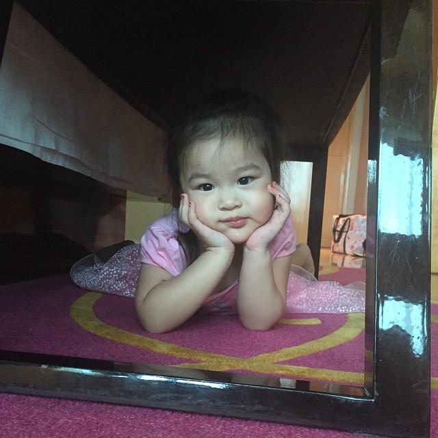 ณิริน ลูกสาวตัวน้อยสุดน่ารักของ แม่หนิง ปณิตา