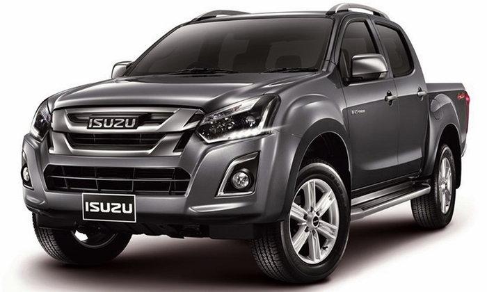 ราคารถใหม่ Isuzu ในตลาดรถประจำเดือนกุมภาพันธ์ 2560